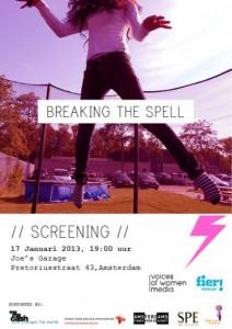 Voices of Women Media Benefit Breaking the Spell Screening Benefit