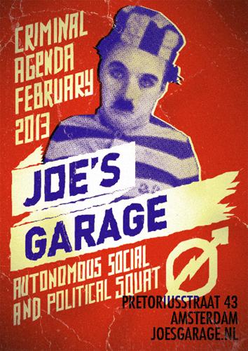 Joe's Garage February 2013 poster