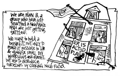 Plan B. benefit Joe's Garage