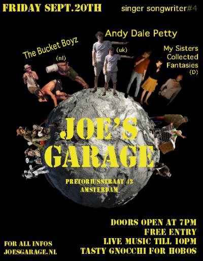 Joe's Garage Singer Songwriters #4