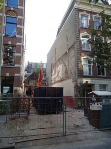 Swammerdamstraat 12 demolished