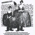 Joe's Garage November 2013 poster