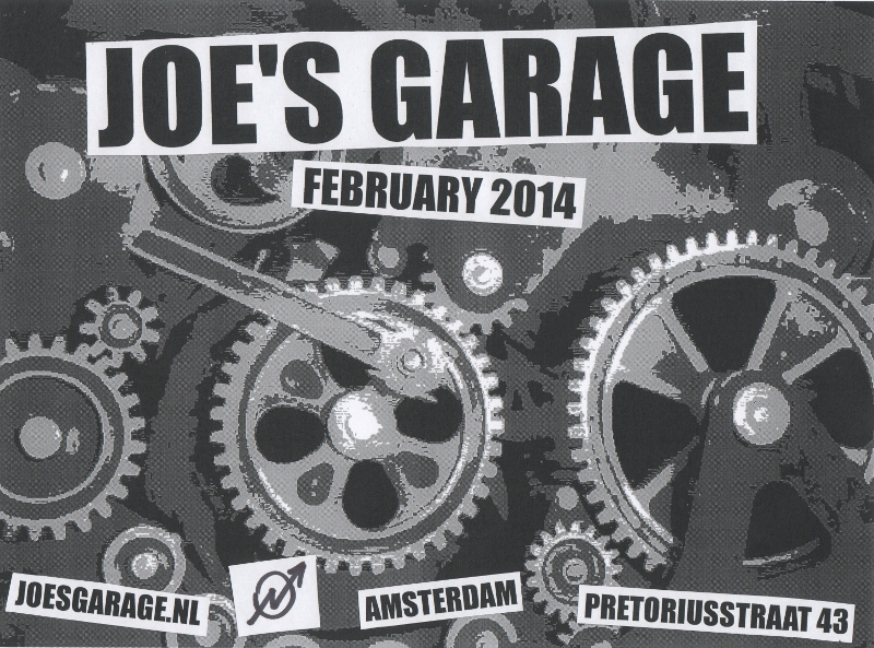 Joes Garage Amsterdam : Joes garage