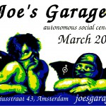 Joe's Garage March poster